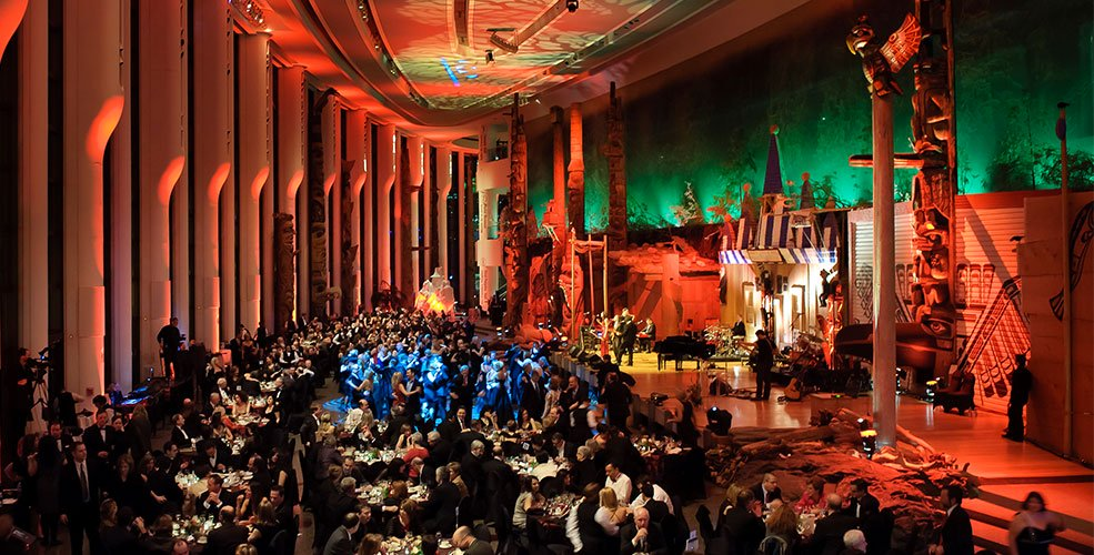 Banquet Grand Hall - Canadian Museum of History