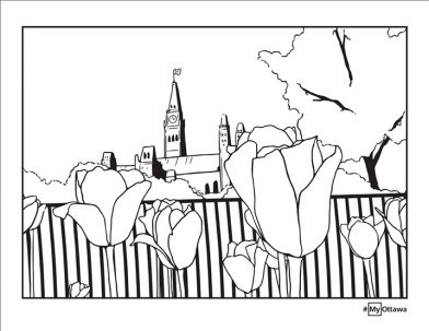 Colouring page option 2