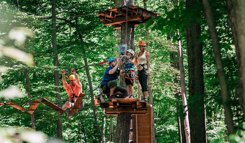 Camp Fortune Ski,  Aerial Park and Ziplines