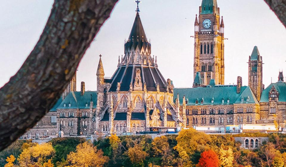 Parliament Hill, Fall