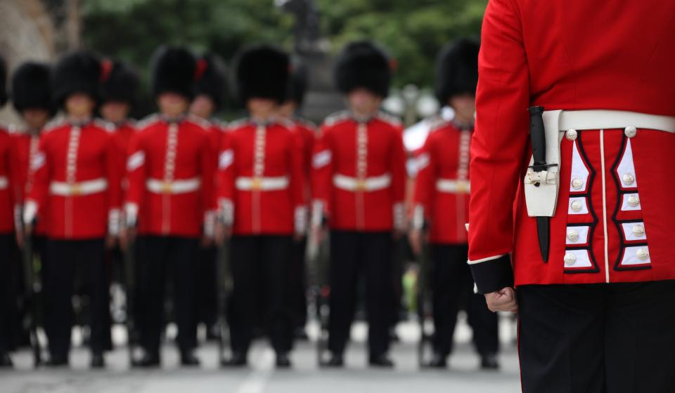 Changing of the Guards - Canadian