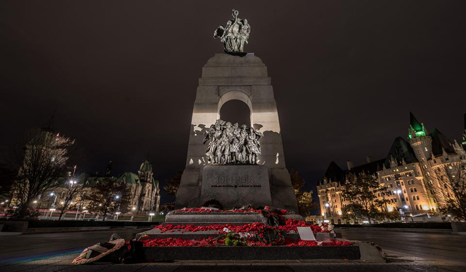 National War Memorial, Remembrance Day