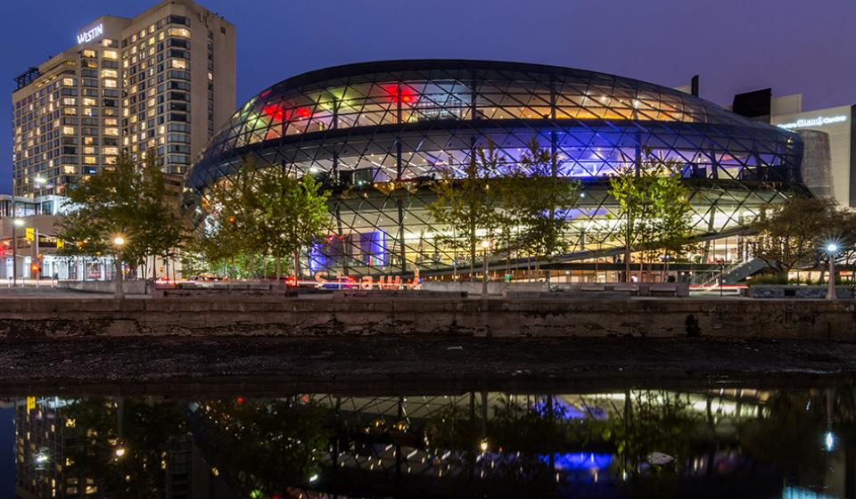 Shaw Centre, Rideau Canal