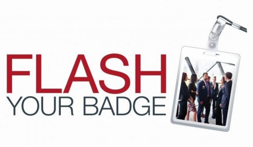 Flash your Badge Program