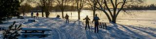 SJAM Winter Trail, Winter, Cross-country skiing