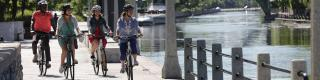 Rideau Canal, Cycling. Biking